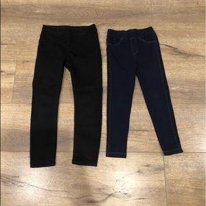 Pair of Toddler Girl's Pants in Size 4T